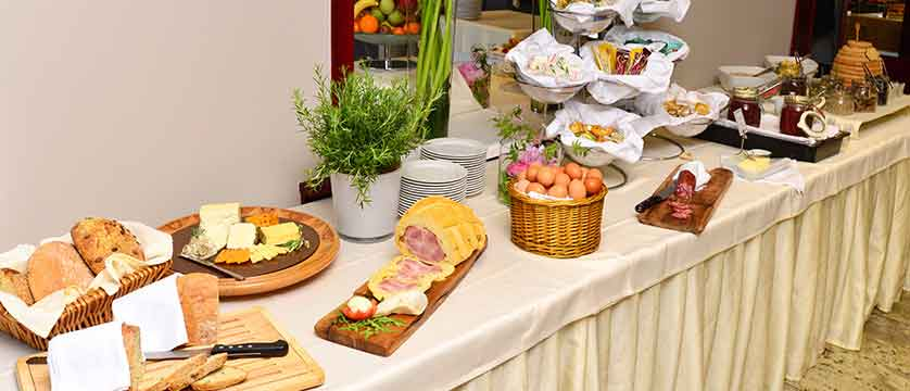 Hotel Kompas, Lake Bled, Slovenia - An example of the breakfast buffet 3.jpg